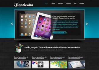 Particular – Free Html5 Template