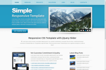 simple theme [Free Html5 and Css3 Templates]