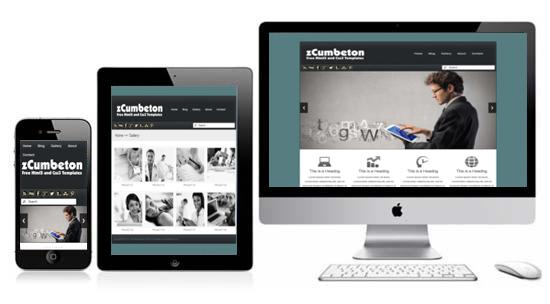 responsive stylesheet template zcumbeton responsive html5 theme html5xcss3