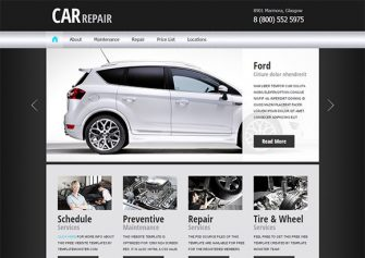 CarRepair2 – Free Html5 Template