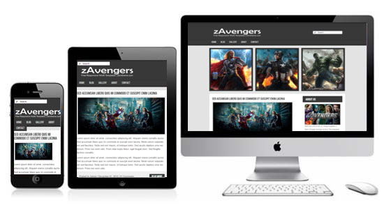 zAvengers-Free-Html5-Responsive-Template