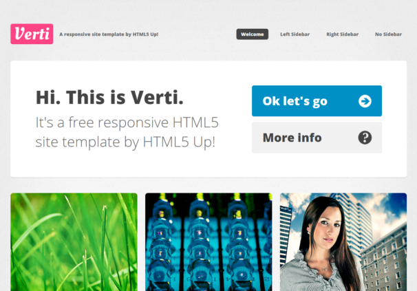 Verti theme  [Free Html5 and Css3 Templates]