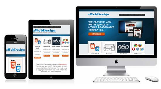 zWebdesign free html5 responsive templates