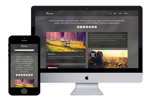 Obscura Free Responsive Html5 Template