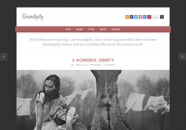 Serendipity [Free Html5 and Css3 Templates]