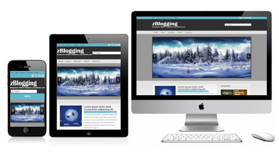 zBlogging Free Html5 Responsive Template