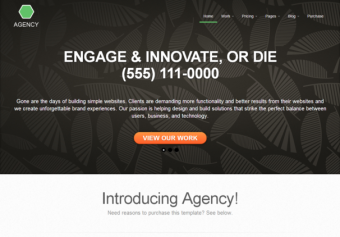 Agency – Responsive Html5 Template