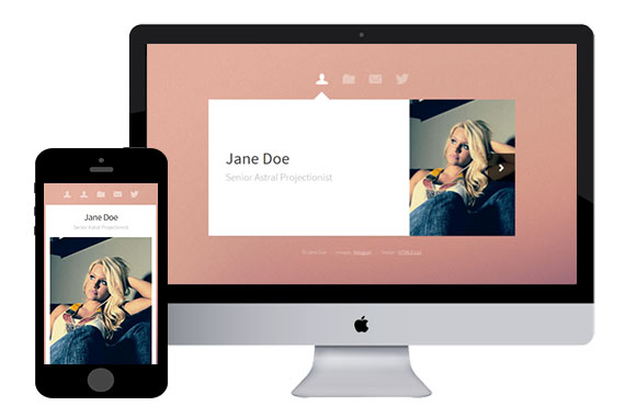 Astral free responsive html5 template