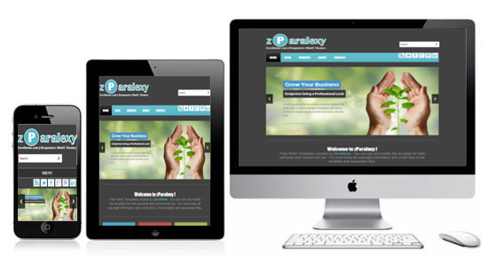 zparalexy free html5 responsive template