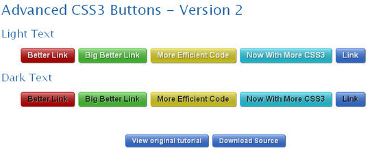 Advanced CSS3 Menu Version-2