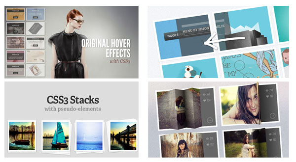 CSS3 HOVER EFFECT TUTORIALS