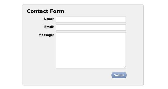 Clean and Stylish CSS3 Form
