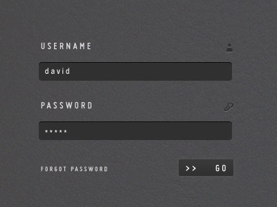 Clean and Stylish Login Form With HTML5 and CSS3