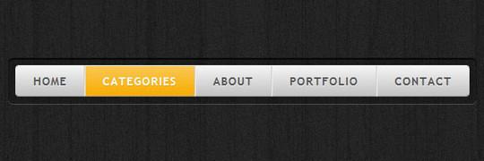 Cool CSS3 navigation menu
