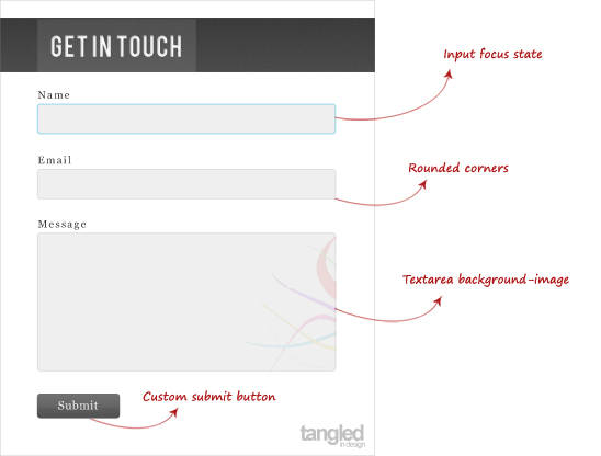 Create a Contact Form using HTML5, CSS3 and PHP