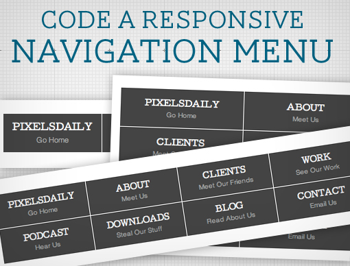 Responsive Navigation Menu