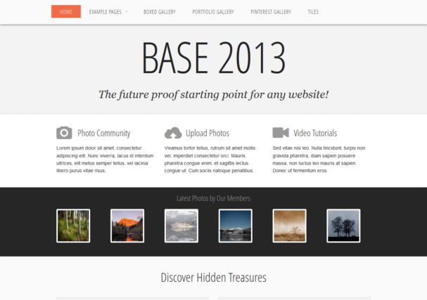 base 2013 [Free Html5 and Css3 Templates]