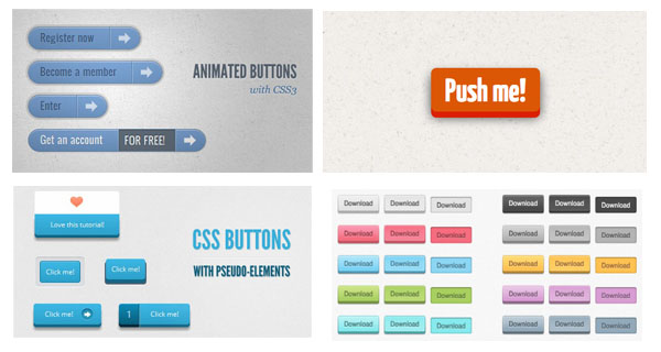 css3 button tutoriasl