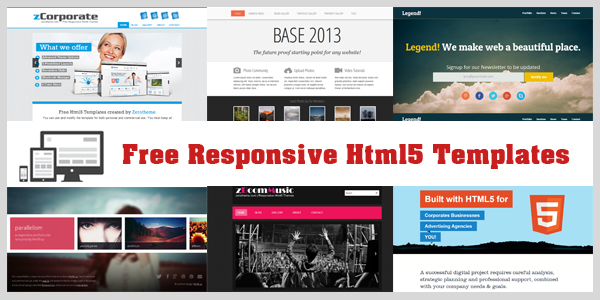 Free Responsive Html5 and Css3 Templates and Themes