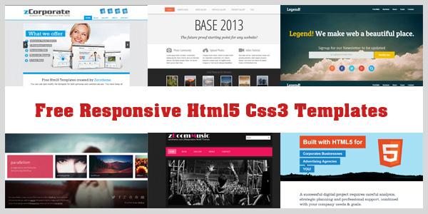free-responsive-html5-css3-templates