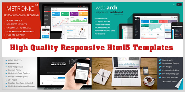 high-quality-responsive-html5-css3-templates
