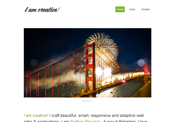 imcreative [Free Html5 and Css3 Templates]