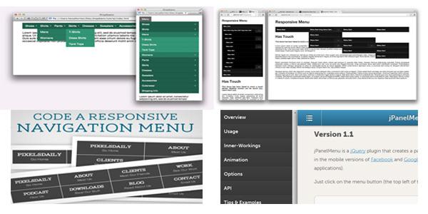 responsive menus