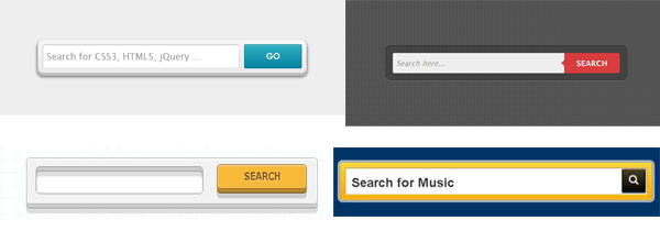 search box css3 tutorials