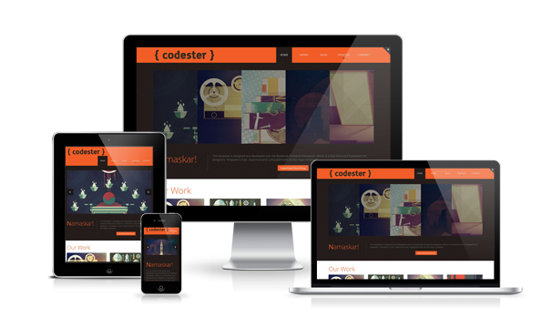codester free responsive html5 templates