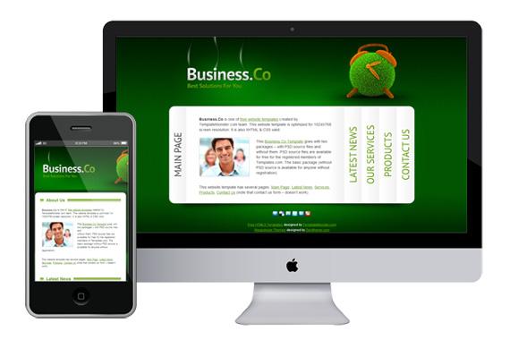 zbusinessco free responsive html5 css3 templates themes