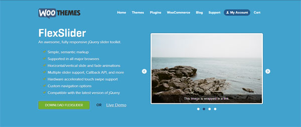flexslider jquery slider slideshow plugins