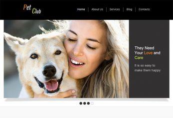 PetClub – Free Html5 Template