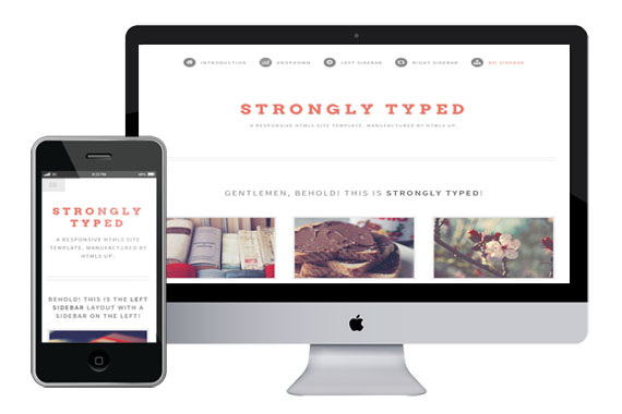 stronglytyped free responsive html5 template