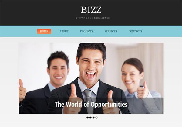 bizz free html5 templates