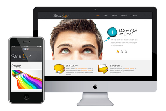 zStartup Free Responsive Html5 Css3 Templates