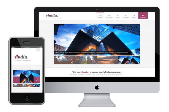 andia free responsive html5 templates - Free Responsive Templates
