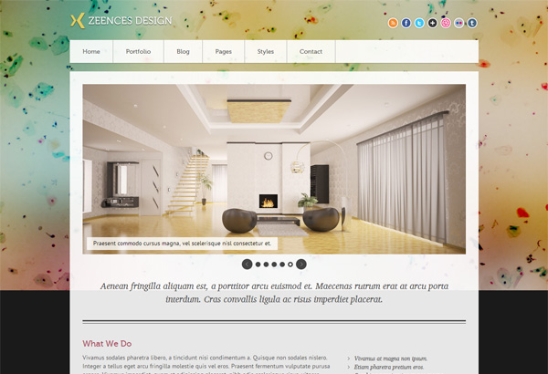 Zeenceslight Free Html5 Templates Themes