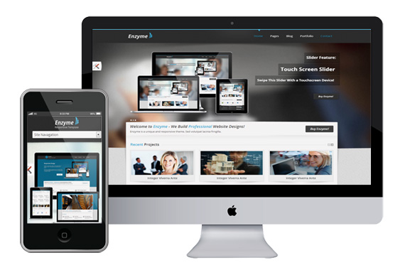 enzyme free responsive html5 templates themes