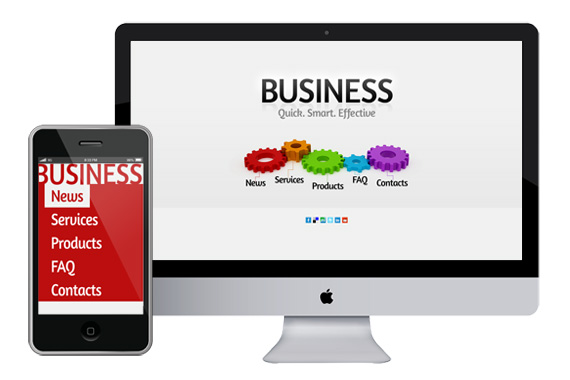 zBusiness - Responsive Html5 Template - Html5xCss3