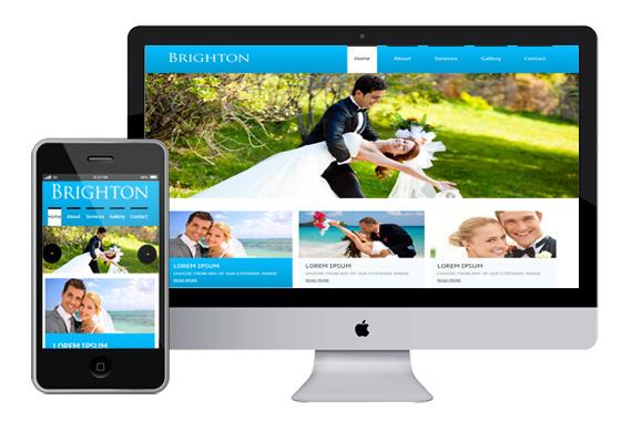 brighton free responsive html5 css3 templates