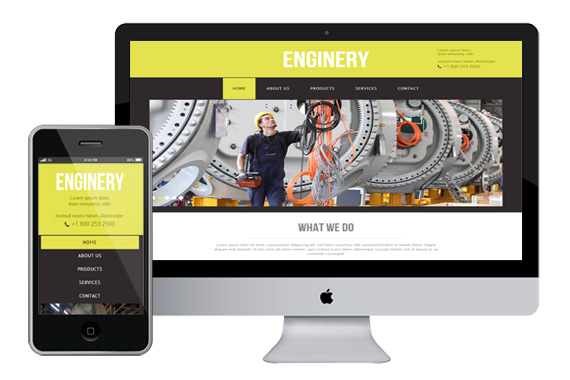 enginery free responsive html5 css3 templates themes