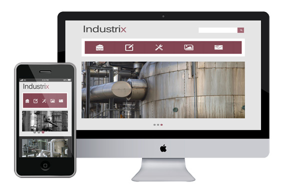 industrix free responsive html5 css3 templates themes