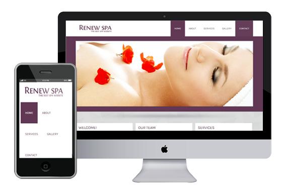 renew spa free responsive html5 css3 templates themes