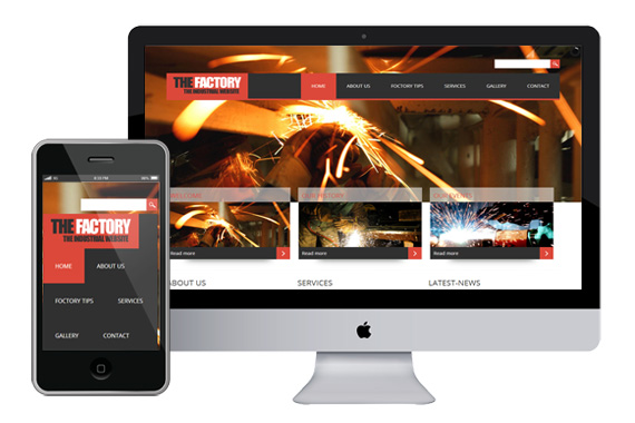 thefactory free responsive html5 css3 templates themes