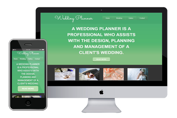 wedding planner free responsive html5 css3 templates themes