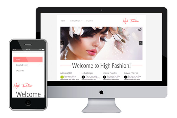 highfasion free responsive html5 templates