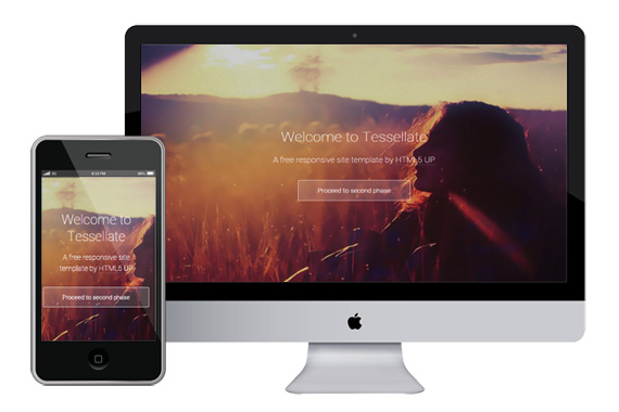 tessellate free responsive html5 css3 templates