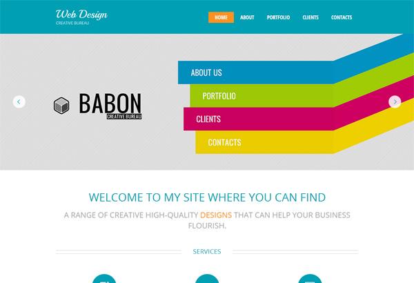Free Web Template Html5. free technology exploration company ...