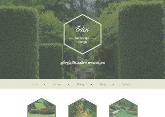 Eden – Free Html5 Template