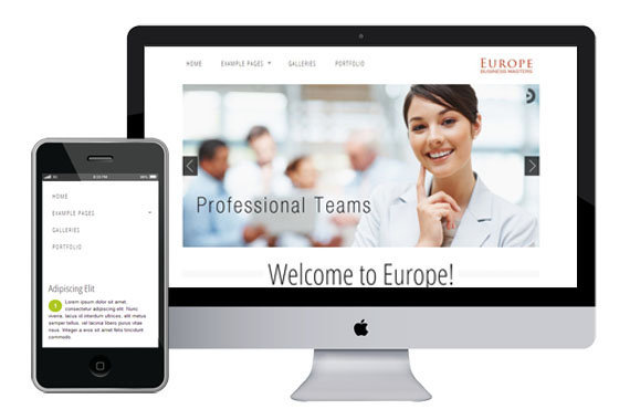 europe free responsive html5 templates themes